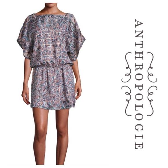 7dc38d95b68 NEW JOIE Sofinne silk kimono dress medium